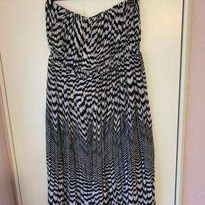 Lane Bryant strapless dress